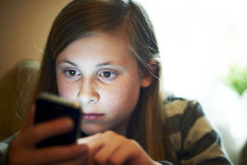 Young Female Using Smart Phone