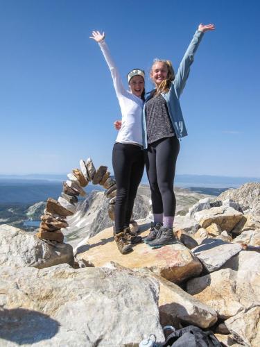 On top of Medicine Bow Peak