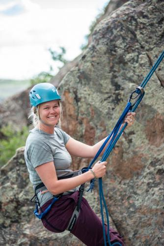Rappelling safely