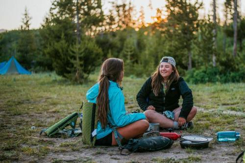 Campsite conversations